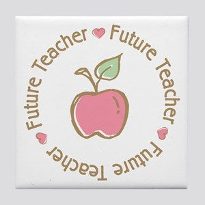 Future Teacher Tile Coaster