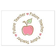 Future Teacher Large Poster