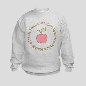 Future Teacher Kids Sweatshirt