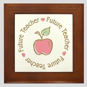 Future Teacher Framed Tile