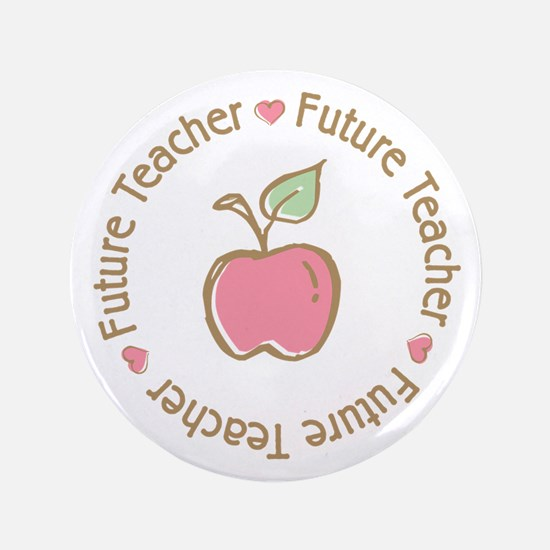 "Future Teacher 3.5"" Button"