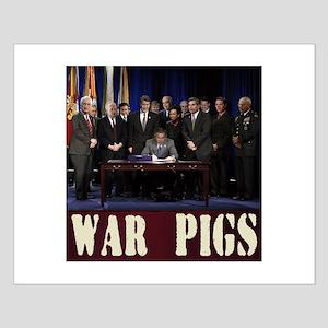 Washington Pigskins Small Poster