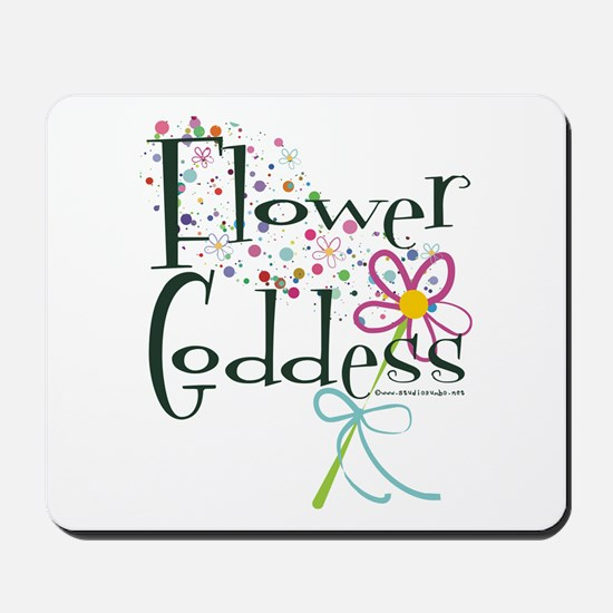 Flower Goddess Mousepad