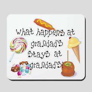 What Happens at Grandad's... Mousepad