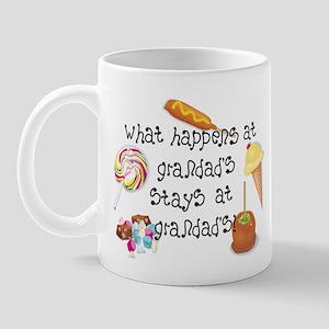 What Happens at Grandad's... Mug