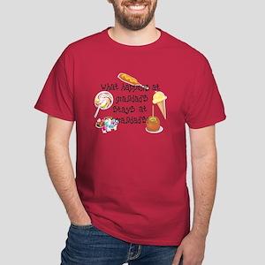 What Happens at Grandad's... Dark T-Shirt