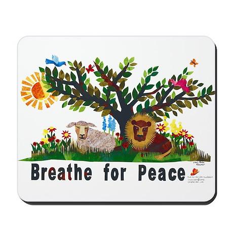 Breathe for Peace - Mousepad