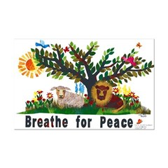 Breathe for Peace - Posters
