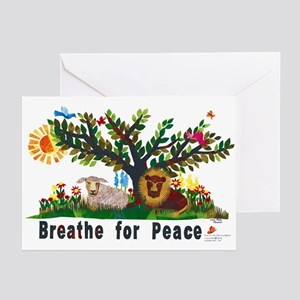 Breathe for Peace - Greeting Cards (Pk of 10)
