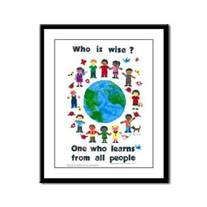 Who is Wise Framed Panel Print