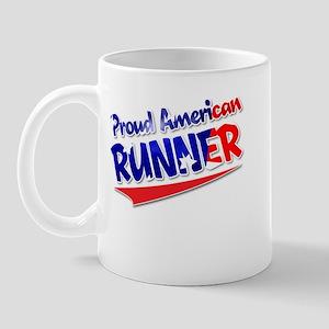 Proud American Runner Mug