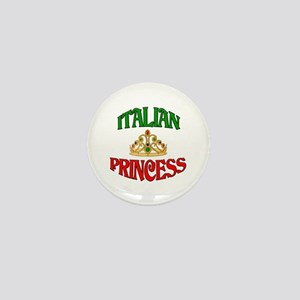 Italian Princess Mini Button