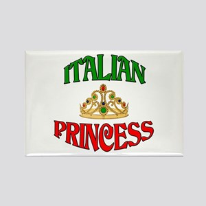 Italian Princess Rectangle Magnet