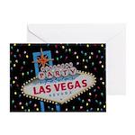 BIRTHDAY PARTY IN Fabulous Las Vegas Card