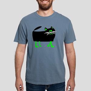 Black Cat Green legs T-Shirt
