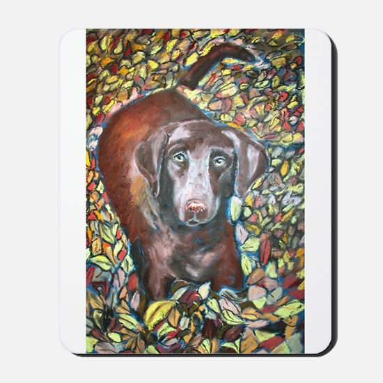 """Emmit"" a Labrador Retriever Mousepad"