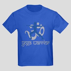Yoga Warrior Kids Dark T-Shirt