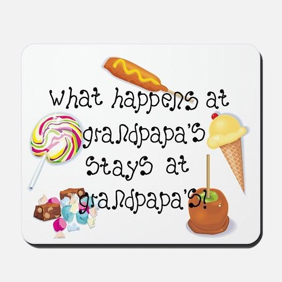What Happens at Grandpapa's... Mousepad
