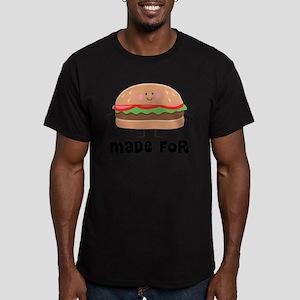 Hamburger and Fries Matching T-Shirt