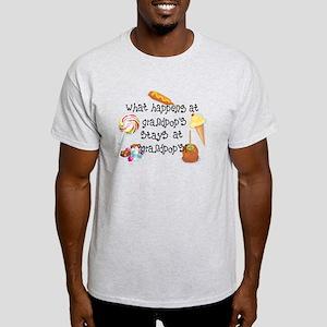 What Happens at Grandpop's... Light T-Shirt