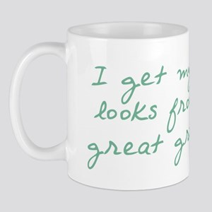 Good Looks Come from Great Grandpa Mug