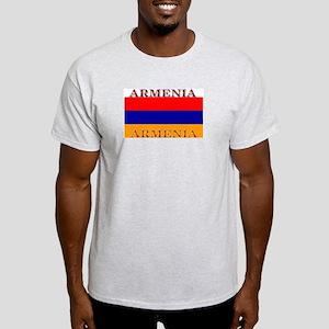 Armenia Armenian Flag Ash Grey T-Shirt