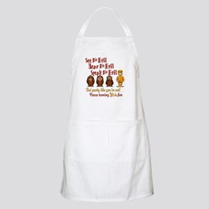 Party 30th BBQ Apron
