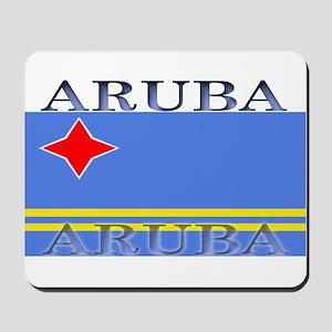 Aruba Aruban Flag Mousepad