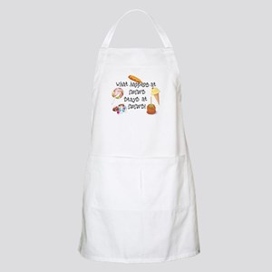 What Happens at Meme's... BBQ Apron