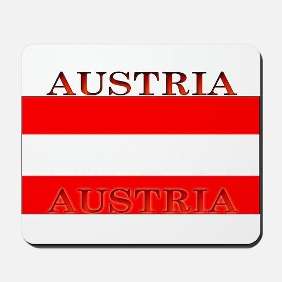Austria Austrian Flag Mousepad