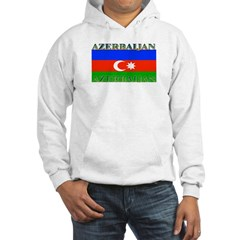 Azerbaijan Azerbaijani Flag Hoodie