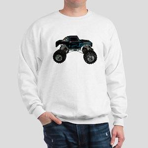 Monster Truck - Sideways Sweatshirt