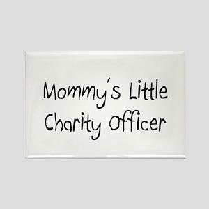 Mommy's Little Charity Fundraiser Rectangle Magnet