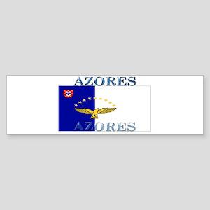 Azores Flag Bumper Sticker