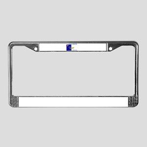 Azores Flag License Plate Frame