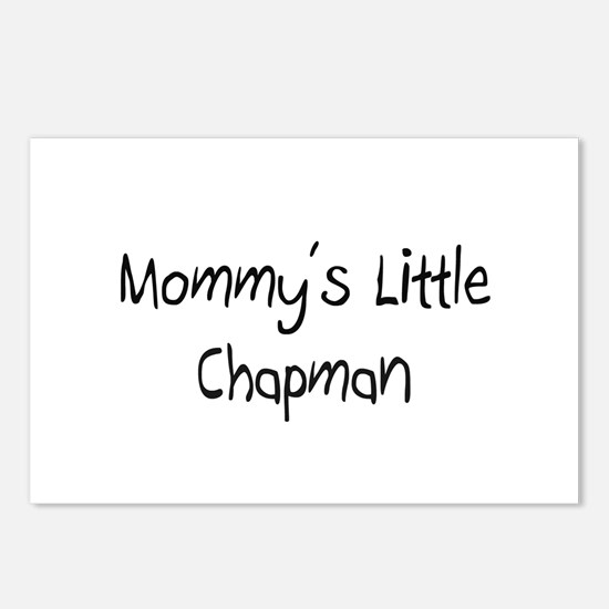 Mommy's Little Chapman Postcards (Package of 8)