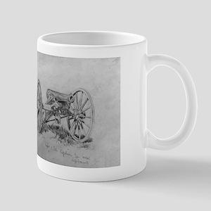 Brass 12 Pounder Cannon Civil War Gift Mug