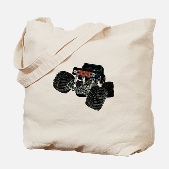 Monster Crawler Tote Bag
