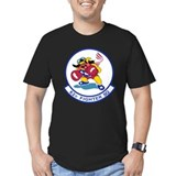 62nd fighter squadron Fitted Dark T-Shirts