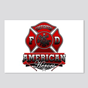 American Heroes Postcards (Package of 8)