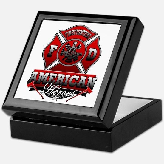 American Heroes Keepsake Box