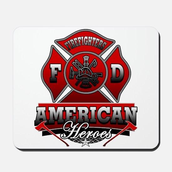 American Heroes Mousepad