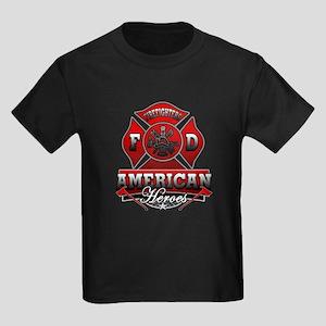 American Heroes Kids Dark T-Shirt