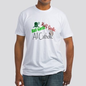 Half Gaelic Half Garlic All C Fitted T-Shirt