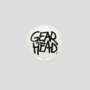Gear Head Mini Button