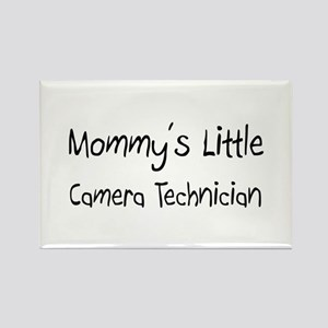 Mommy's Little Camera Technician Rectangle Magnet