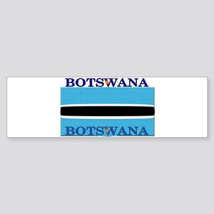 Botswana Flag Bumper Sticker