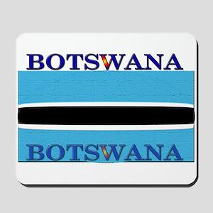 Botswana Flag Mousepad