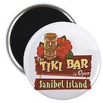 Sanibel Tiki Bar - Magnet