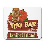 Sanibel Tiki Bar - Mousepad